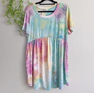 (Haptics) Boutique Tie Dye Dress XL